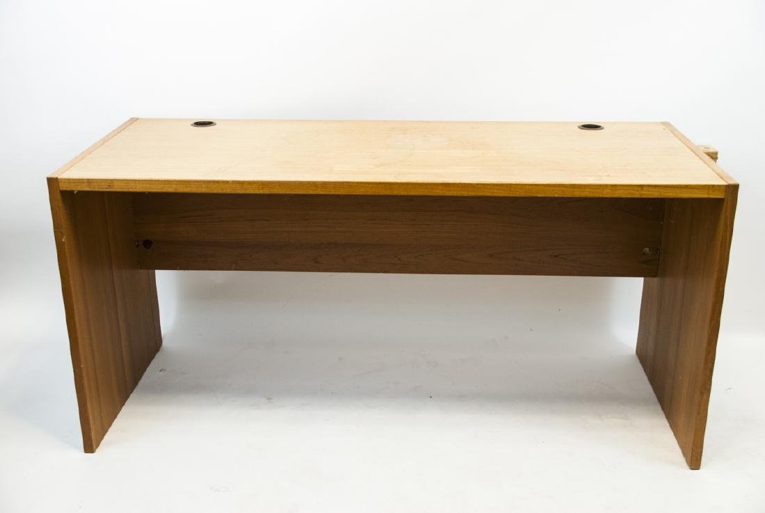 Large Contemporary Pine Office Desk
