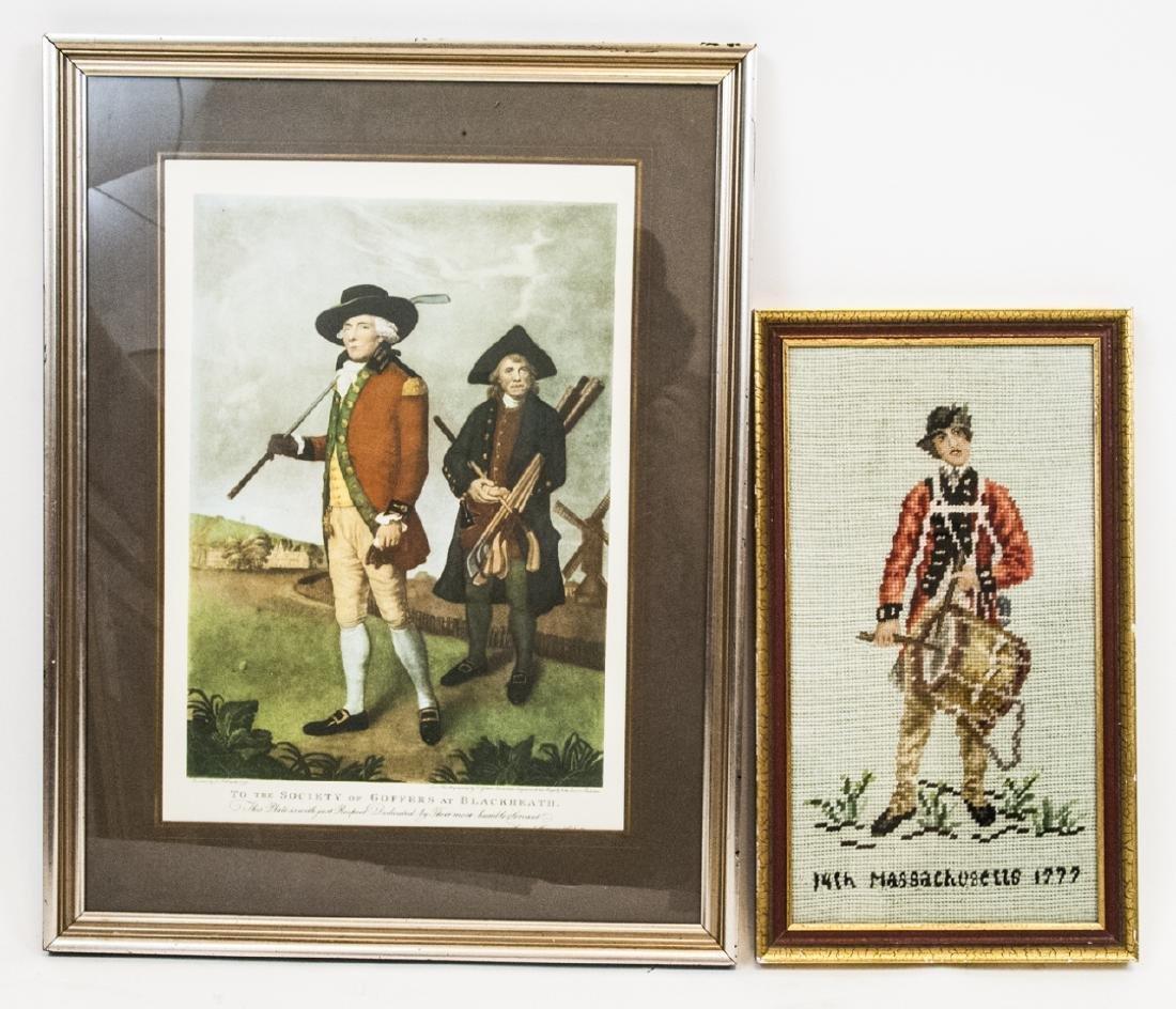 Goffers at Blackheath Print & American Needlepoint