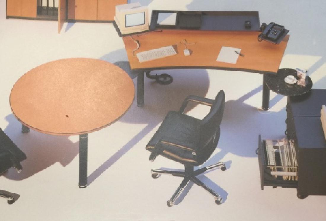 Contemporary Designer Desk & File Cabinet by Vitra