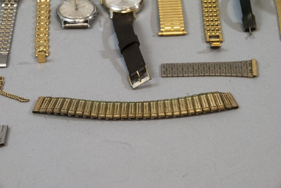 Collection of Vintage Wrist Watches & Parts - 10