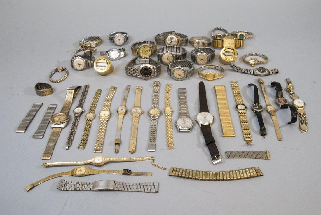 Collection of Vintage Wrist Watches & Parts - 3