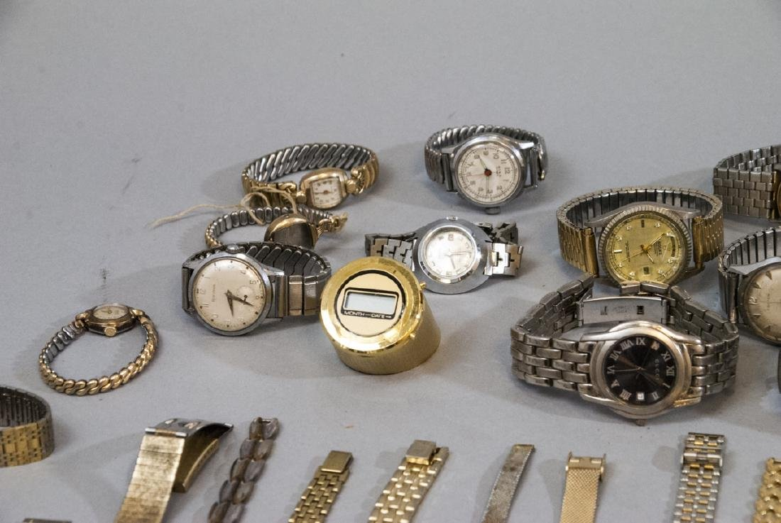 Collection of Vintage Wrist Watches & Parts - 4