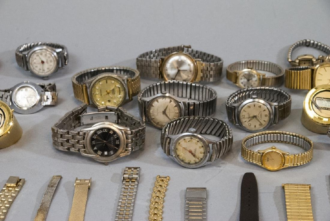 Collection of Vintage Wrist Watches & Parts - 5