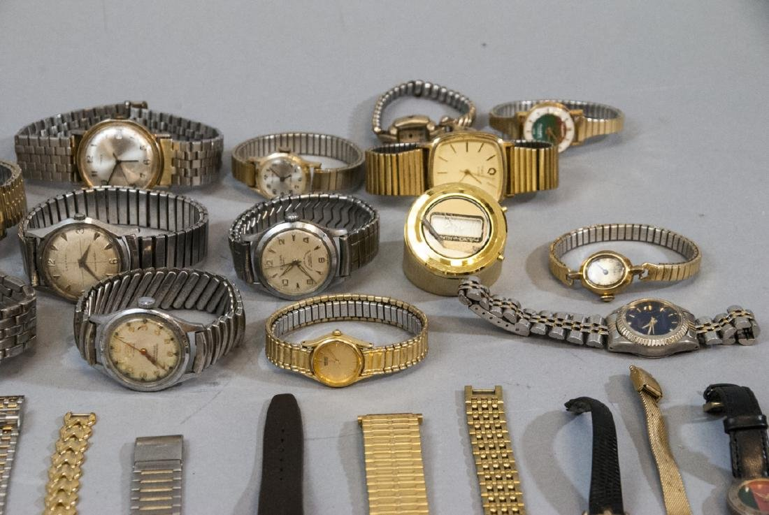 Collection of Vintage Wrist Watches & Parts - 6
