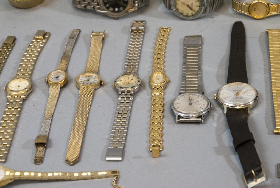 Collection of Vintage Wrist Watches & Parts - 8