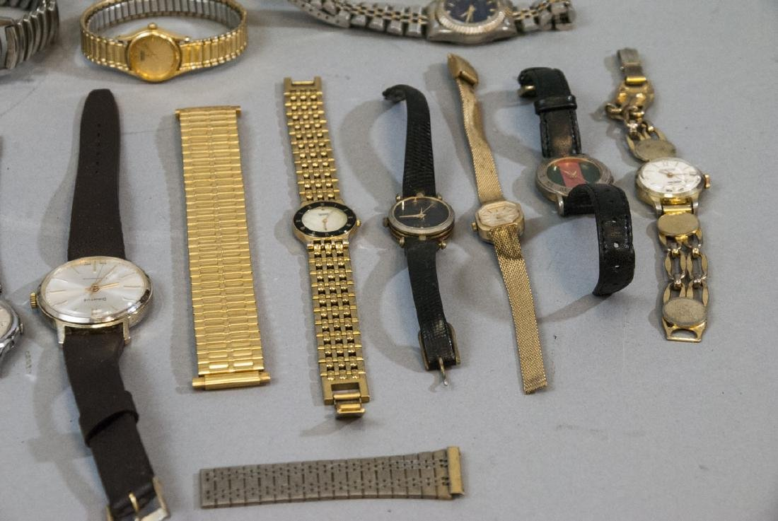 Collection of Vintage Wrist Watches & Parts - 9