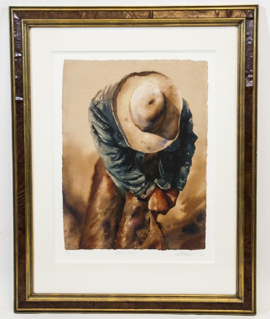 Signed & Numbered Western Print by William Matthew