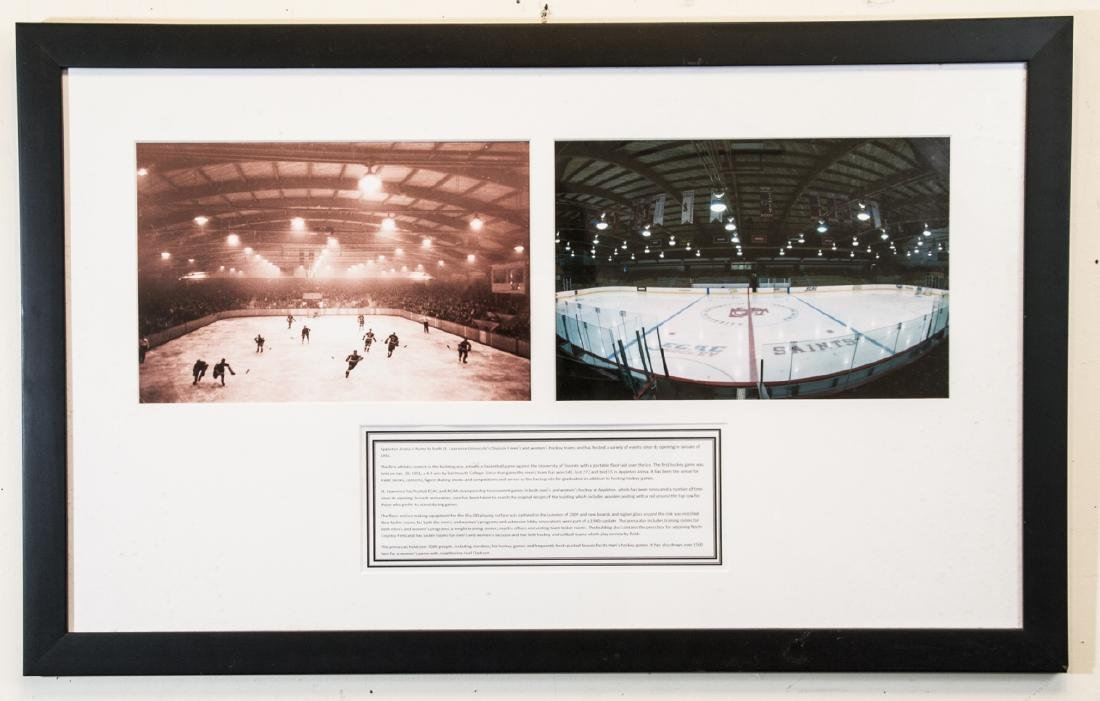 St. Lawrence Univ Arena -Framed Photos & Write up
