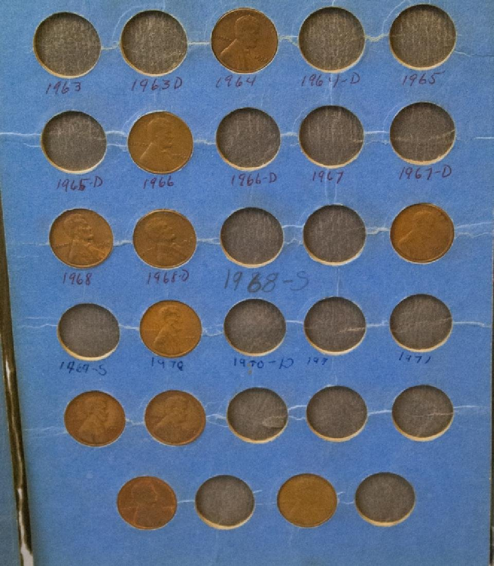 Lincoln Head Pennies 1909-40 & Canadian Small Cent - 12