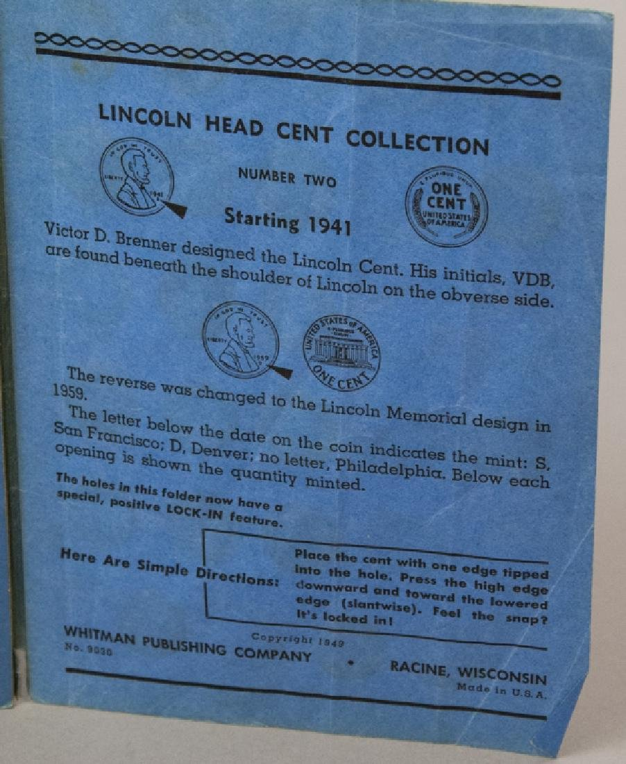 Lincoln Head Pennies 1909-40 & Canadian Small Cent - 13