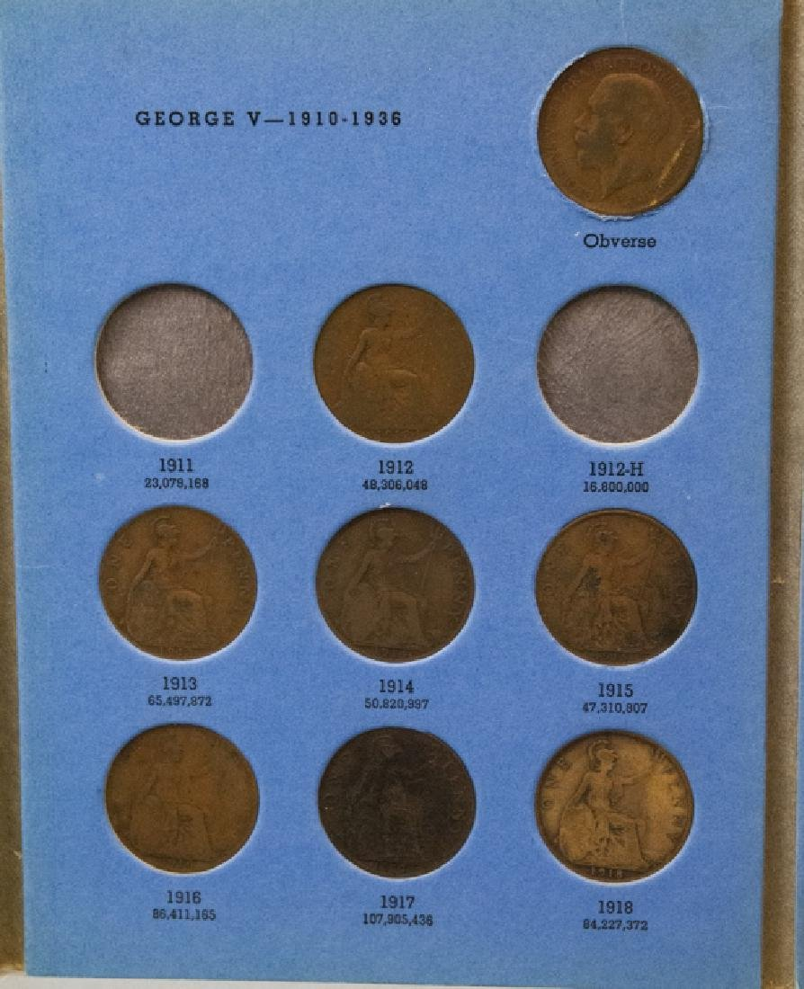 Collection Great Britain Pennies 1860s to 1930s2 - 10