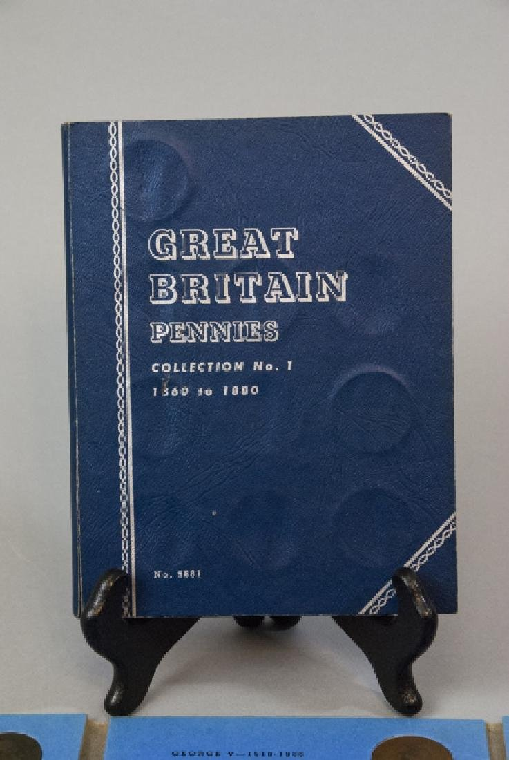 Collection Great Britain Pennies 1860s to 1930s2 - 3