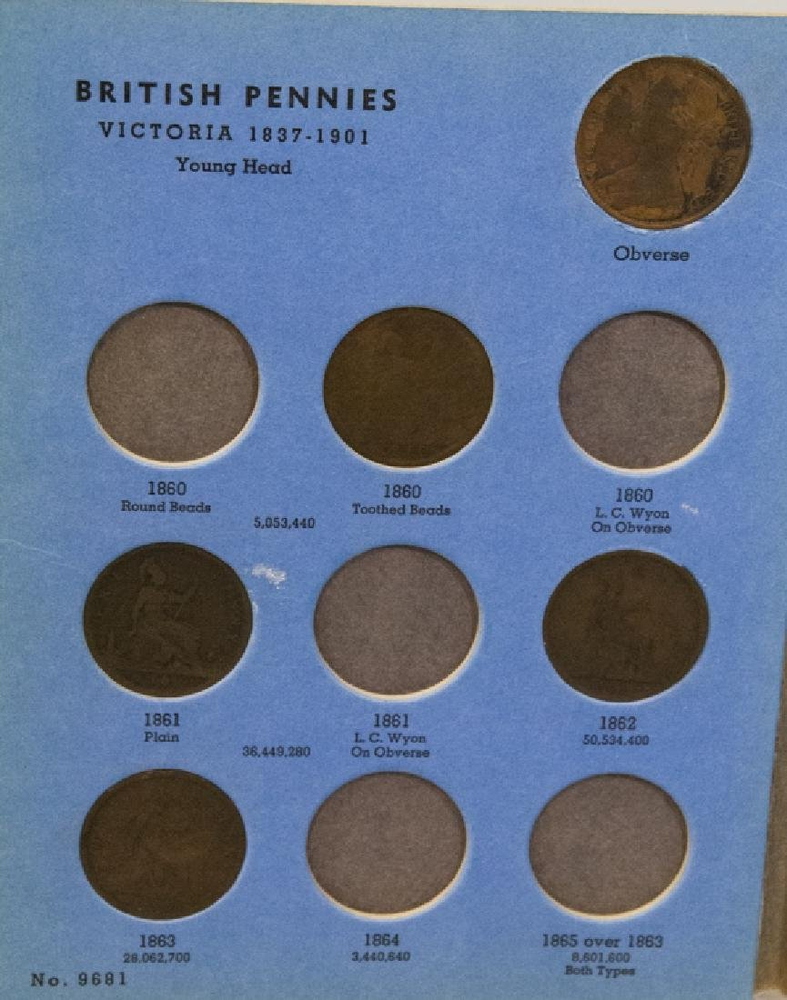 Collection Great Britain Pennies 1860s to 1930s2 - 5