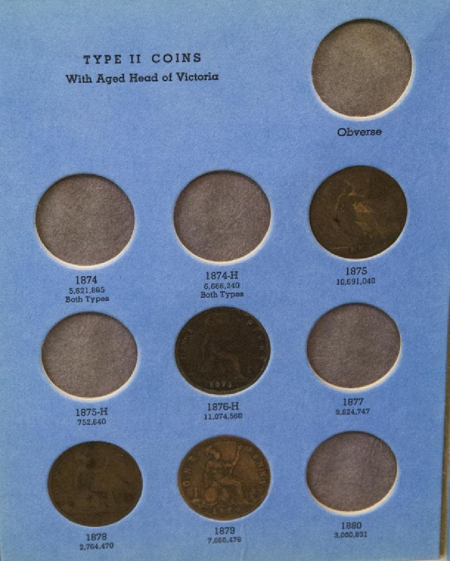 Collection Great Britain Pennies 1860s to 1930s2 - 7