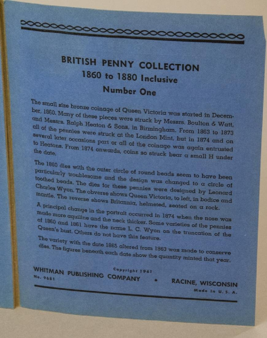 Collection Great Britain Pennies 1860s to 1930s2 - 8