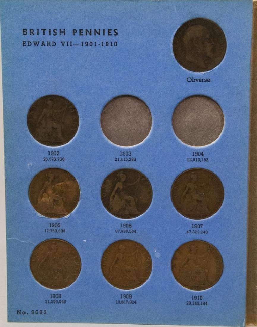 Collection Great Britain Pennies 1860s to 1930s2 - 9