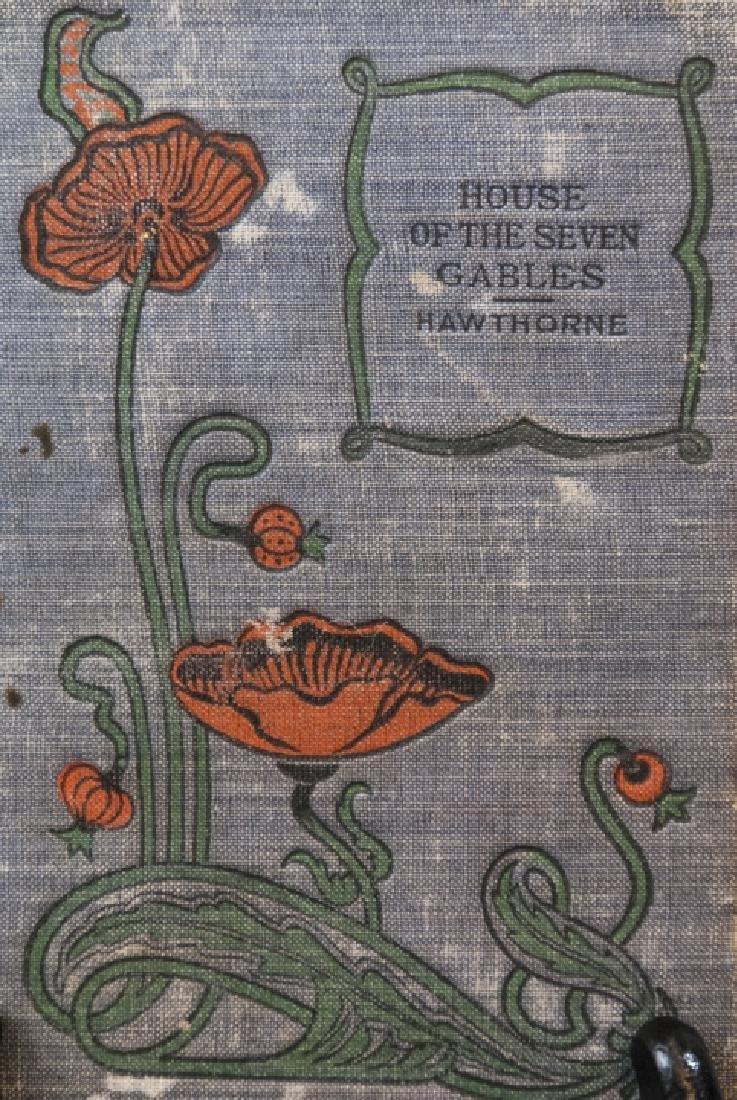 Antique Nathaniel Hawthorne House of Seven Gables - 2