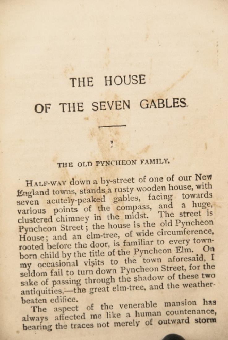 Antique Nathaniel Hawthorne House of Seven Gables - 4