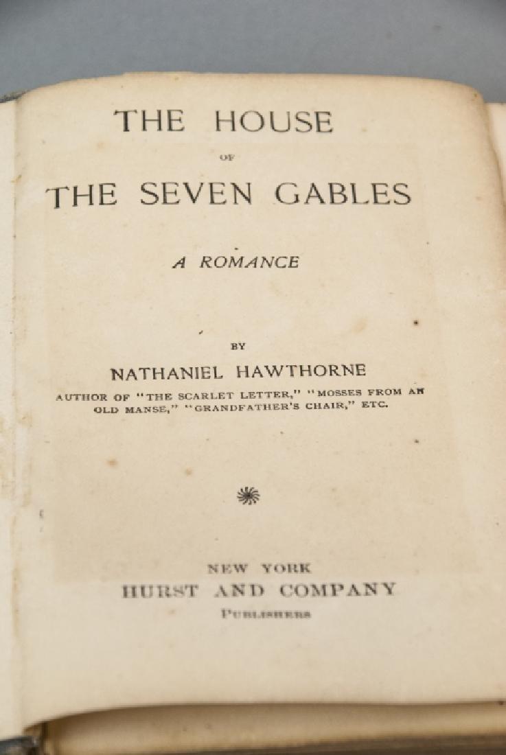 Antique Nathaniel Hawthorne House of Seven Gables - 6