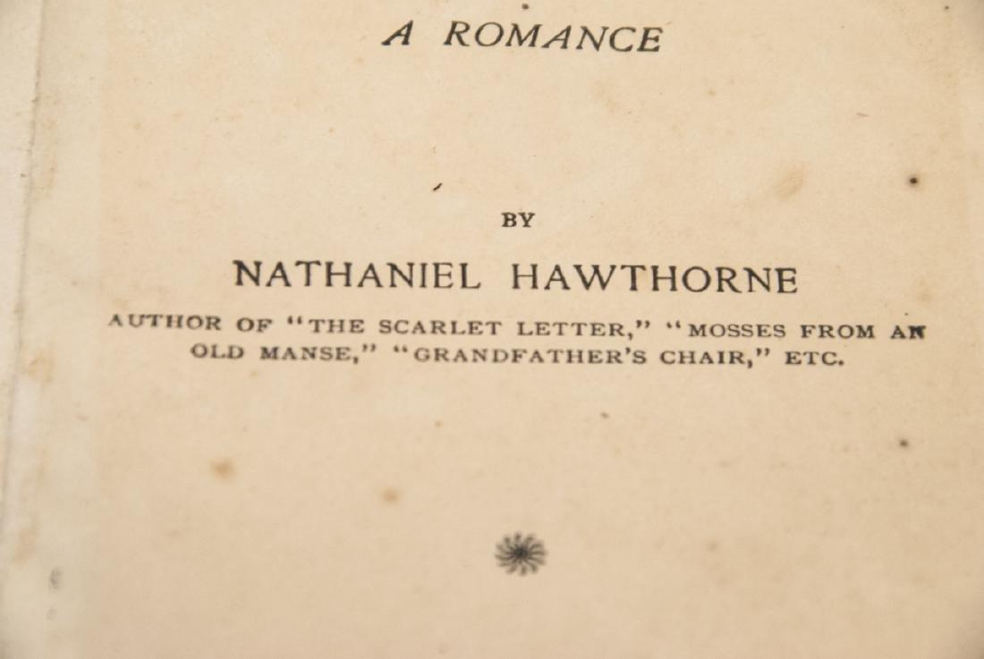 Antique Nathaniel Hawthorne House of Seven Gables - 7