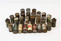 Collection of Antique  Vintage Tin Beer Cans
