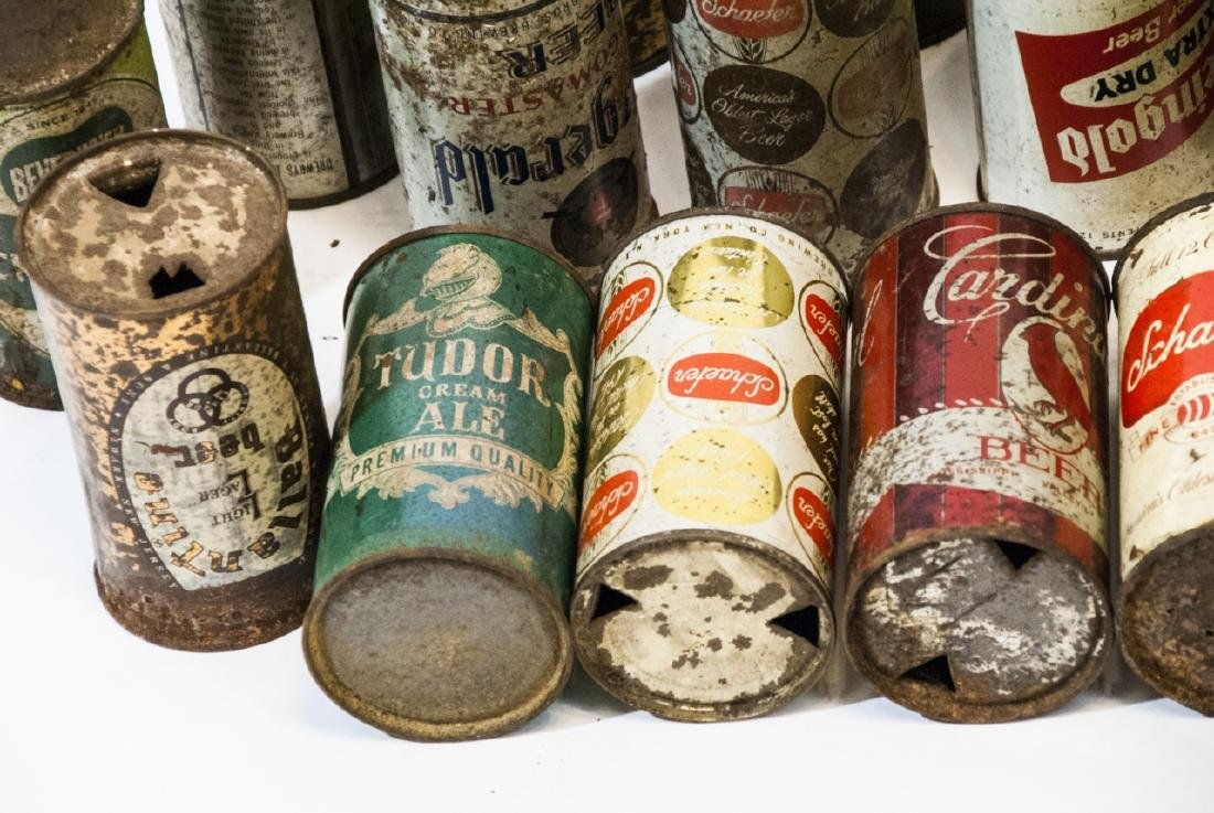 Collection of Antique & Vintage Tin Beer Cans - 5