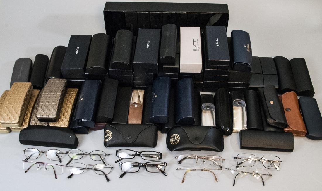 Large Collection of 50+ Glasses Cases