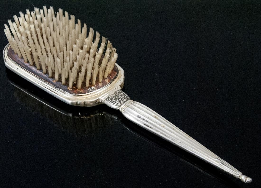 Antique Sterling Silver Art Deco Style Comb