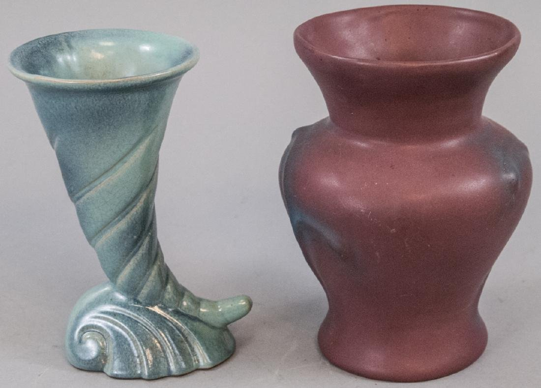 Van Briggle and Frankoma Pottery Vases