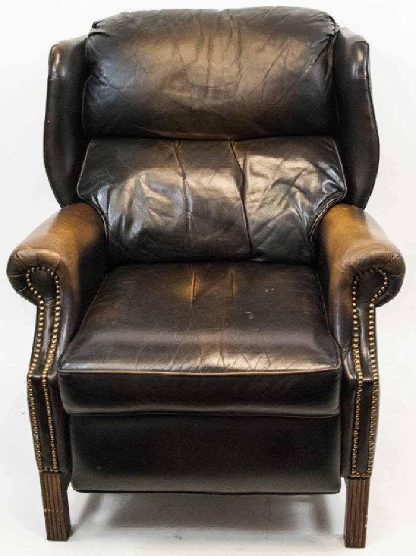 Leather Thomasville Furniture Armchair Recliner