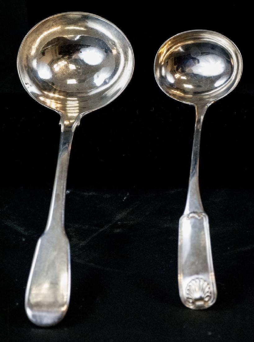 Antique Scottish & English Sterling Ladle Spoons