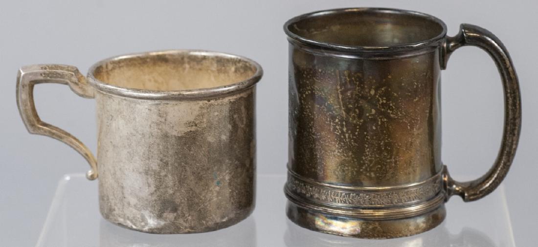 Gorham & Web Sterling Silver Baby Cups / Mugs