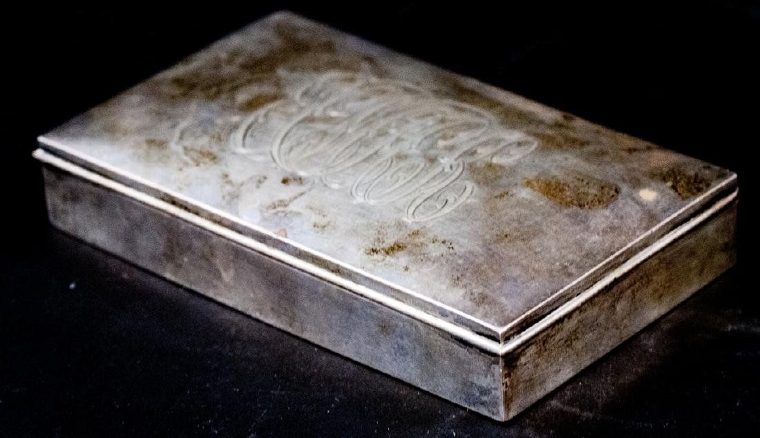Antique Kirk & Son Sterling Silver Jewelry Box