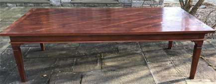 Contemporary Custom Made Gustavian Dining Table