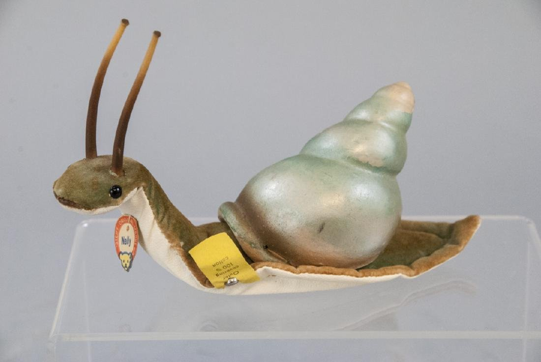Vintage Steiff Nelly the Snail w Original Tags