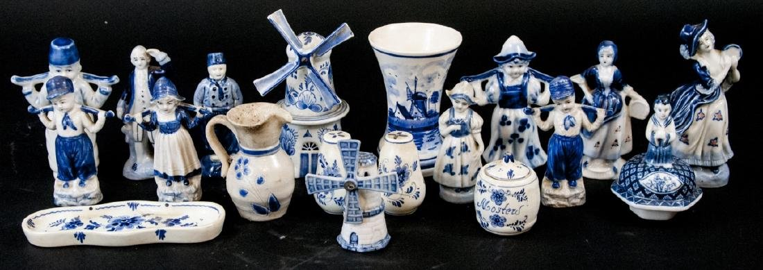 Assorted Lot Of Porcelain Miniatures From Holland