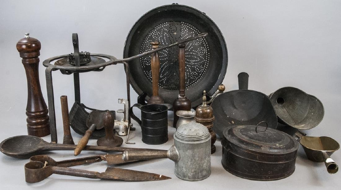 Assorted Lot Of Vintage Cooking Equipment