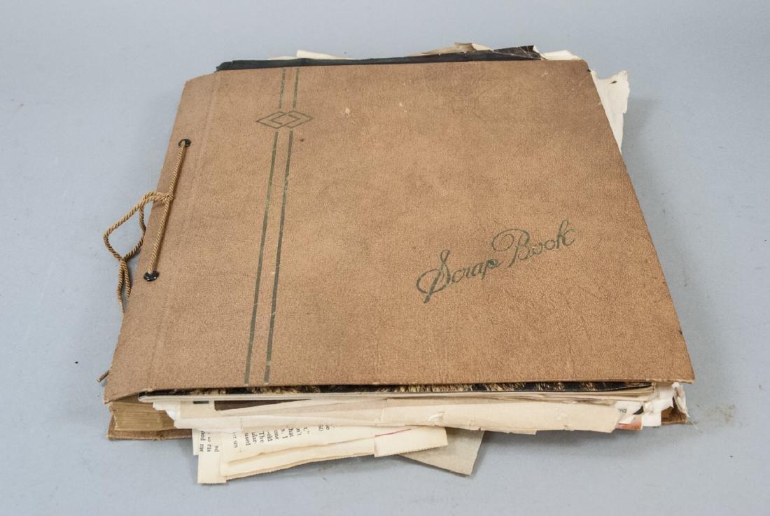 Scrapbook Of Vintage Newspapers & Magazines