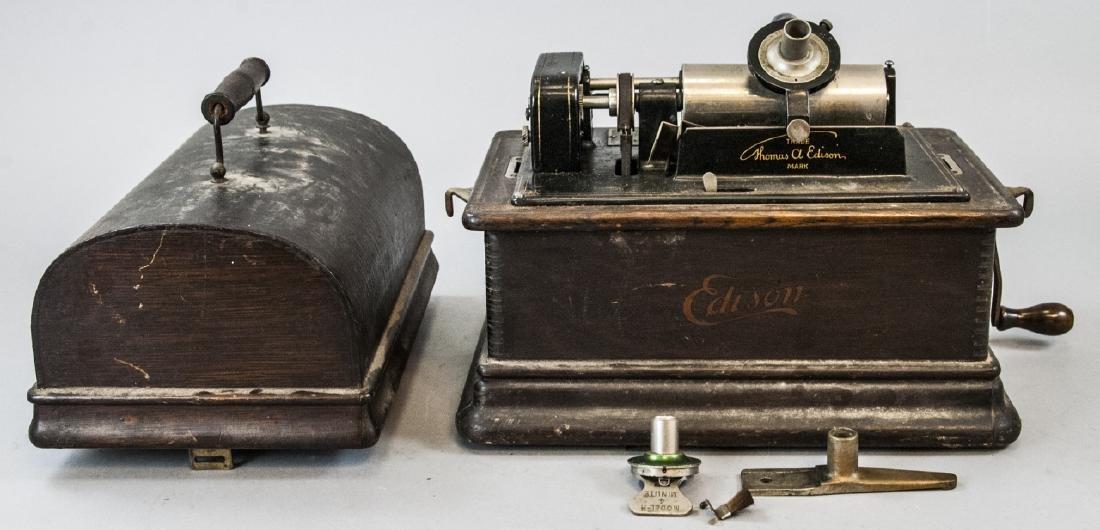 Antique Edison Standard Model D Phonograph