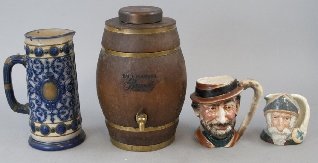 Arnart 5th Mug, Doulton Mug, Pinder Bourne Jug