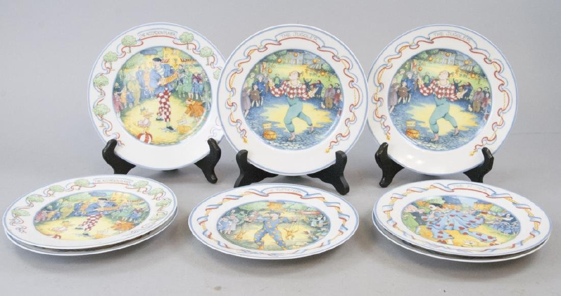 Hansen Street Entertainers, Paris Lunch Plate Set