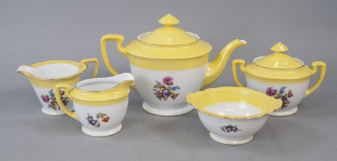 Vintage Noritake Tea Set 5 Pieces