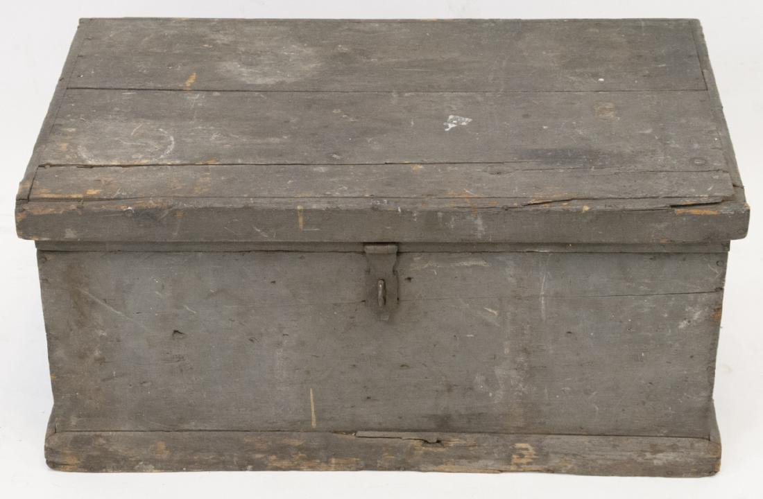 Antique Pine Trunk or Blanket Chest