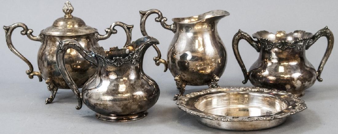 Reed & Barton & Sheridan Silver Plated Sets