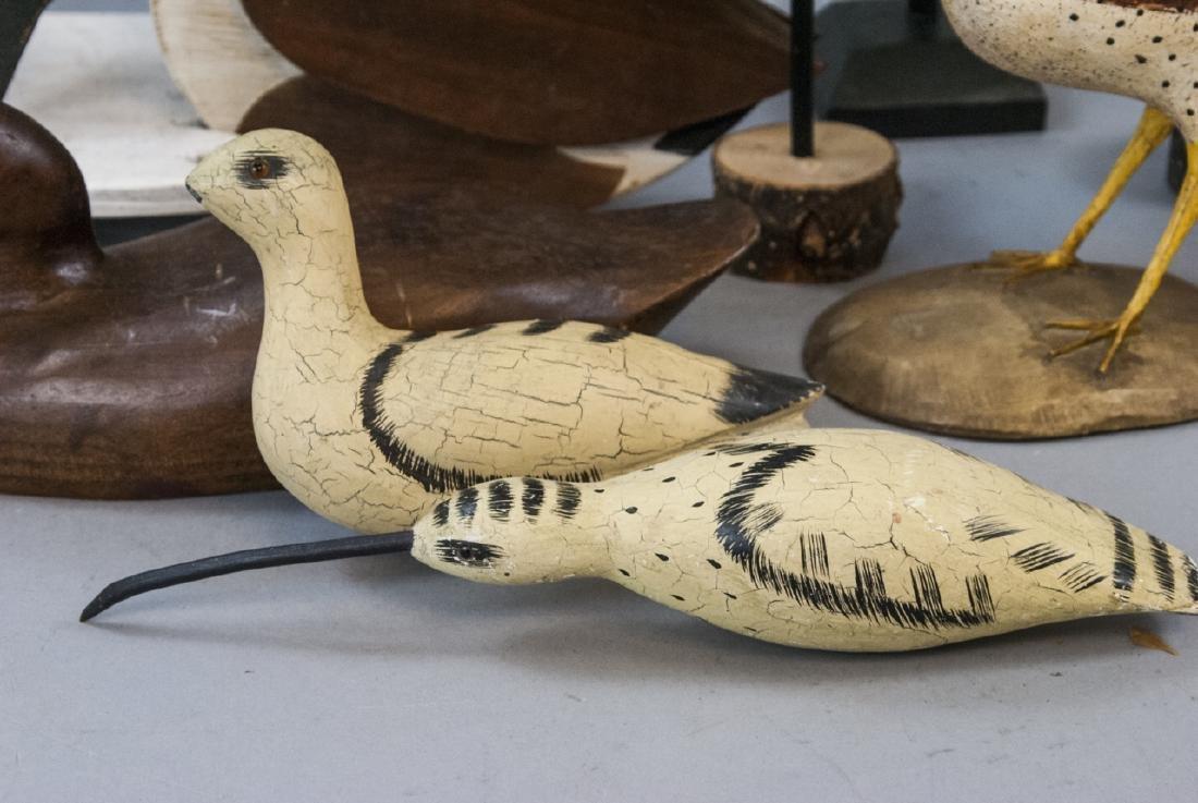 Assorted Lot Of Decoys & Decorative Bird Statues - 3