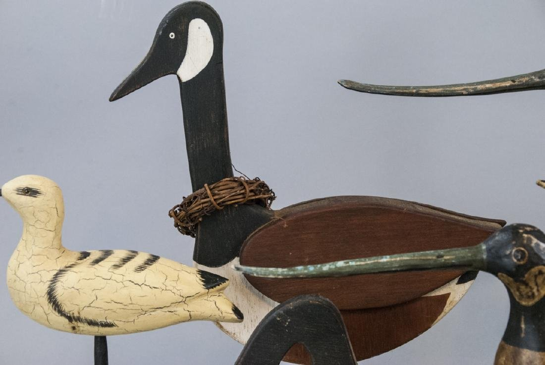 Assorted Lot Of Decoys & Decorative Bird Statues - 6