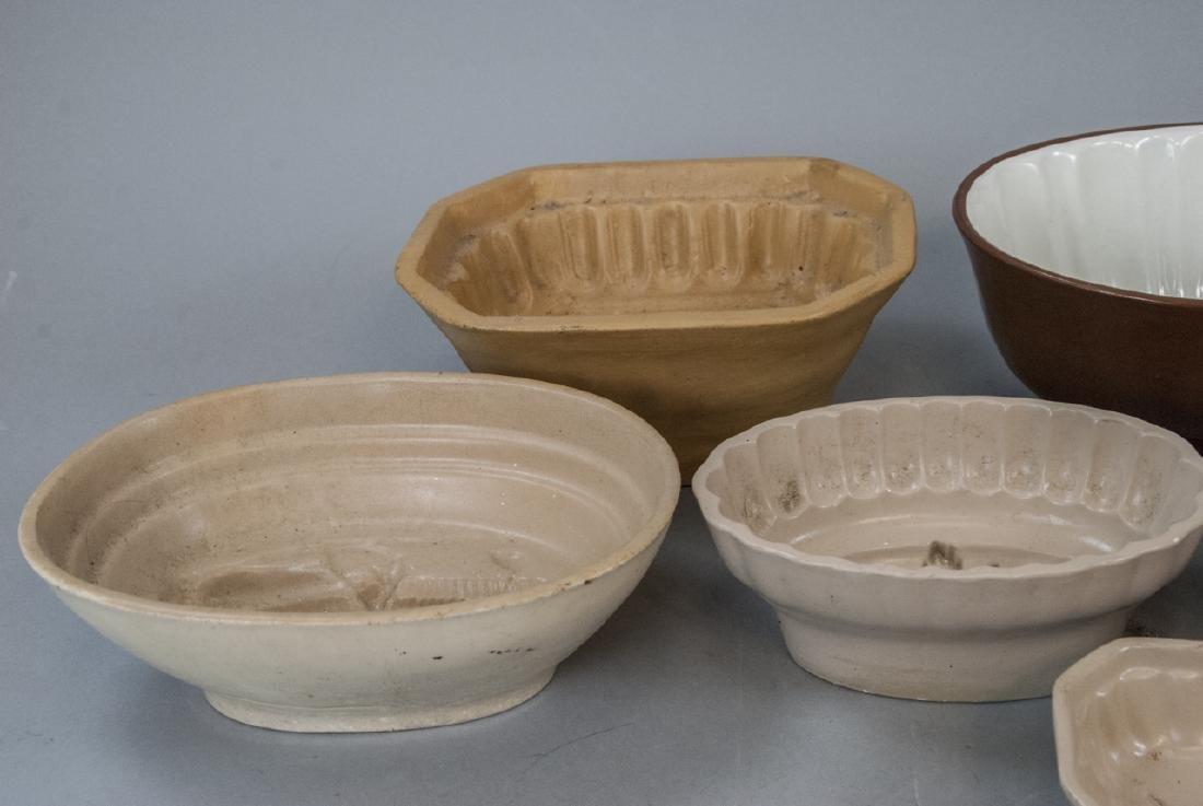 Antique Ironstone & Stoneware German Pudding Molds - 2