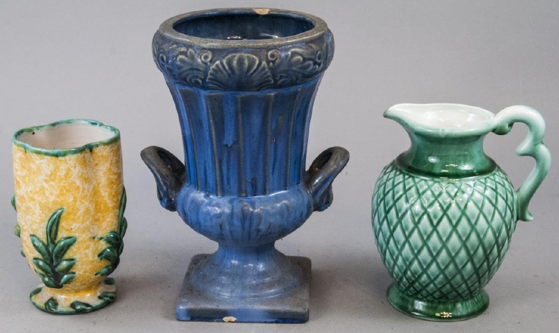 Assorted Vintage Art Pottery Vases