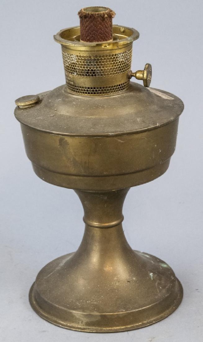 Aladdin Brass Kerosene / Oil Lamp