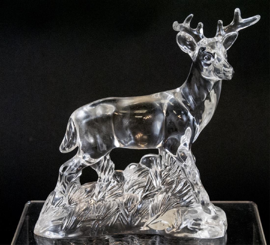 Princess House Wonders of the Wild Crystal Deer
